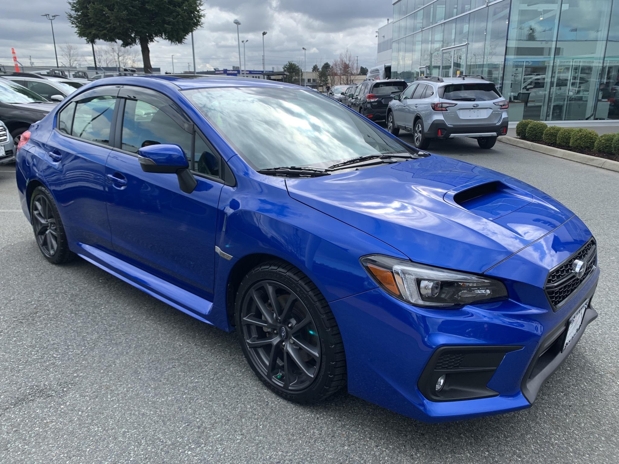 2019 Subaru WRX Sport-tech AWD